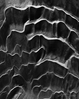 Death Valley National Park, abstract photography, black and white, monochrome, textures, patterns, sand, California, ripples, Mojave Desert