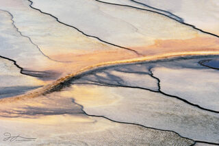 Grand Prismatic Spring, Midway Geyser Basin, Yellowstone national park, abstract photography, bacterial mats, thermophiles, colorful, hot spring, Wyoming
