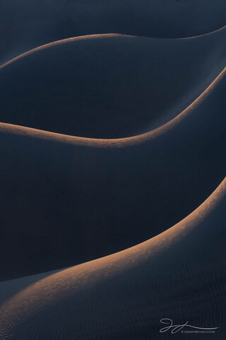 Death Valley National Park, Mojave Desert, abstract photography, California, sunrise, sand, backlit, Mesquite Dunes, sand, landscape
