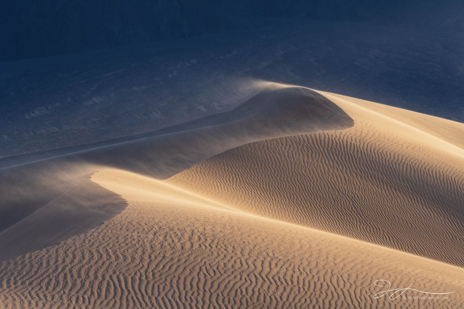 Death Valley National Park, Mojave Desert, abstract photography, California, texture, sunset, ripples, sand, backlit, Mesquite Dunes, patterns, sand, landscape, photo